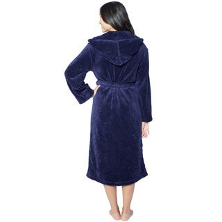 Hooded Super Plush Microfiber Robe