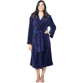 Hooded Super Plush Microfiber Robe