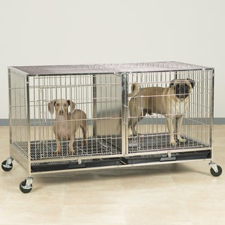 ProSelect Modular Stainless Steel Dog Kennel