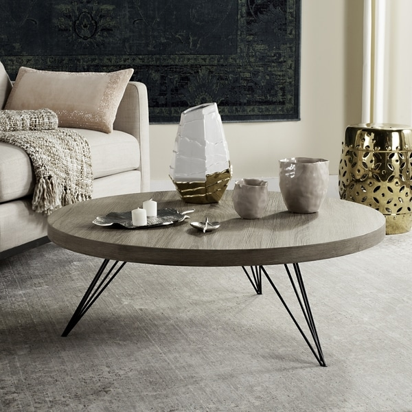 Safavieh Mansel Light Grey Black Coffee Table Free Shipping Today 19004884