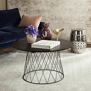 Safavieh Roe Black Coffee Table