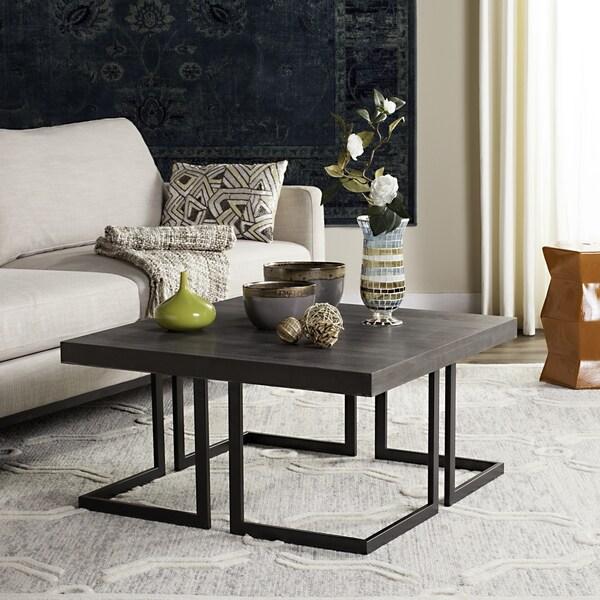 Shop Safavieh Mid Century Modern Amalya Dark Grey Black