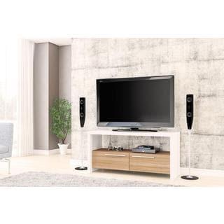 Boahaus White TV Stand