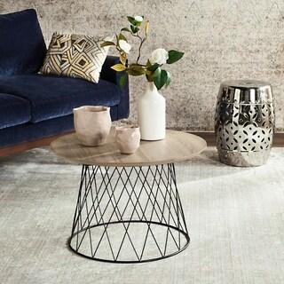 Safavieh Roper Light Grey / Black End Table