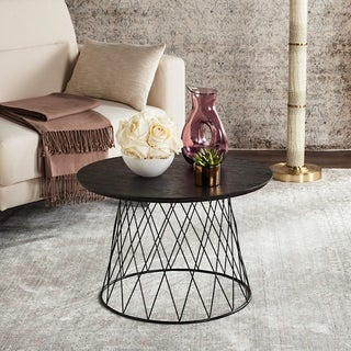 Safavieh Roper Black End Table