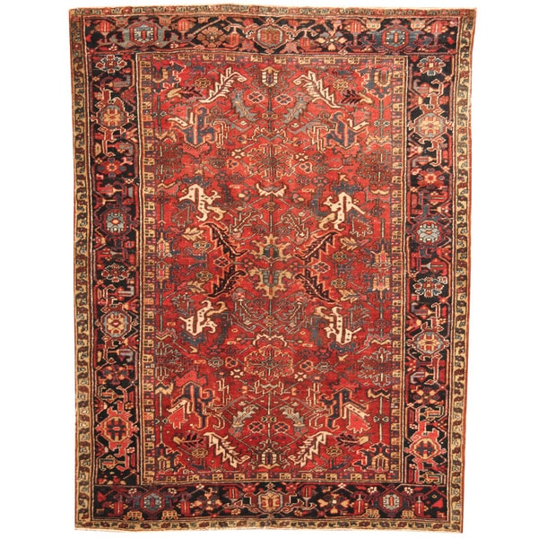 5 X 6 Vintage Kazak Persian Oriental Wool Hand Knotted: Shop Herat Oriental Persian Hand-knotted 1920s Semi