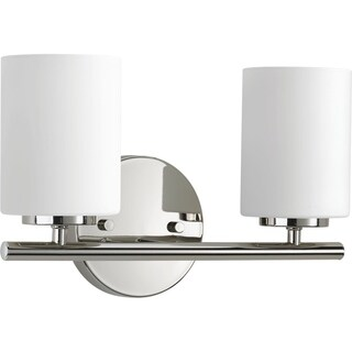 Progress Lighting P2158-104 Replay 2-light Bathroom Fixture