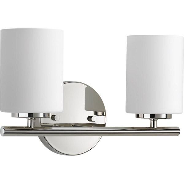 Progress Lighting P2158-104 Replay 2-light Bathroom Fixture