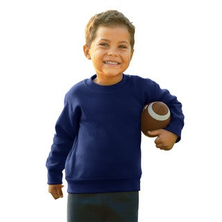 Boy's Navy Fleece Sweatshirt