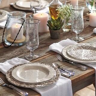 TAG Veranda Melamine Salad Plates Ivory & Melamine Dishwasher Safe Plates For Less | Overstock.com