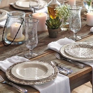 TAG Veranda Melamine Salad Plates Ivory