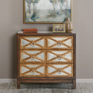 Madison Park Anaya Brown X Accent Chest