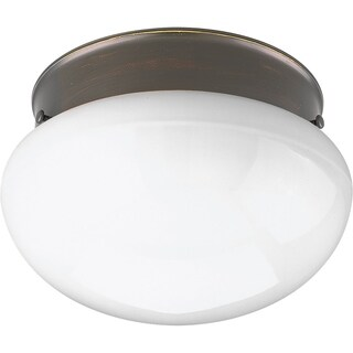Progress Lighting P3408-2030K9 Fitter Bronze Steel 1-light LED Flush Mount