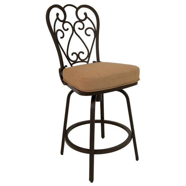 Shop Magnolia Aluminum 26 Inch Outdoor Bar Stool With