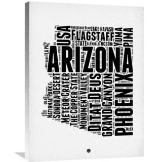Naxart Studio 'Arizona Word Cloud 2' Stretched Canvas Wall Art