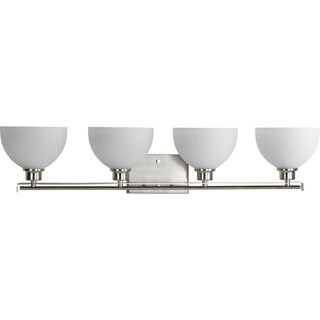 Progress Lighting P2090-09 Legend Grey Aluminum 4-light Bath Light