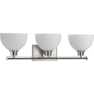 Progress Lighting P2089-09 Legend Grey Aluminum 3-light Bath Light