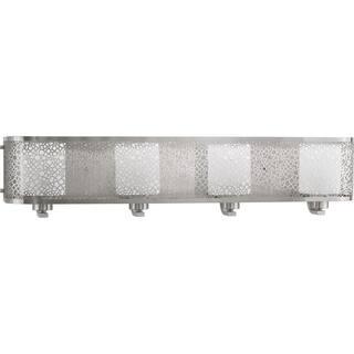 Progress Lighting P2164-09 Mingle Grey Aluminum 4-light Bath Fixture|https://ak1.ostkcdn.com/images/products/12151461/P19005762.jpg?impolicy=medium