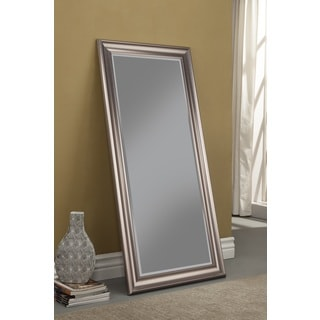 Sandberg Furniture Silver Full Length Leaner Mirror