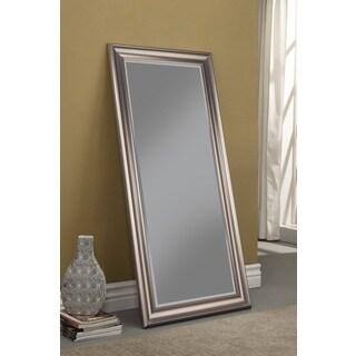 Sandberg Furniture Silver Full Length Leaner Mirror
