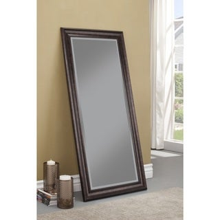 Sandberg Furniture Oil Rubbed Bronze Full Length Leaner Mirror