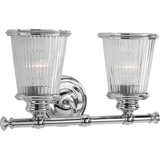 Progress Lighting P2170-15 Radiance Grey Aluminum 2-light Bath Fixture|https://ak1.ostkcdn.com/images/products/12151482/P19005777.jpg?impolicy=medium