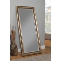 Copper Grove Stabbursdalen Antique Goldtone Full-length Leaner Mirror