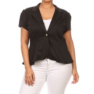 Women's Plus Size Blazer Style Jacket (More options available)