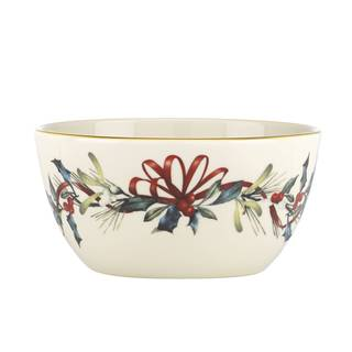 Lenox Winter Greetings White Porcelain Bowl