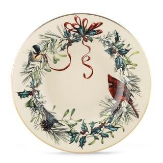 Lenox Winter Greetings Dishwasher Safe Pasta/Rim Soup Bowl