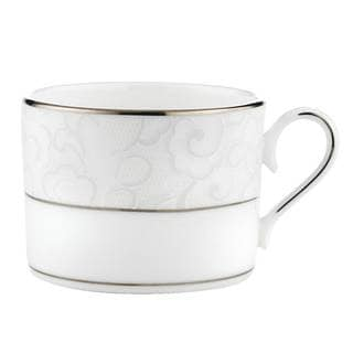 Lenox Venetian Lace Silver China Can Cup