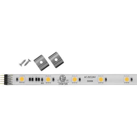 Progress Lighting Hide-a-lite 4 24-volt LED 12-inch 3000K Undercabinet Tape Lighiting - White