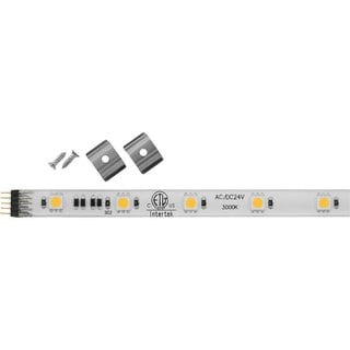Progress Lighting Hide-a-lite 4 24-volt LED 12-inch 3000K Undercabinet Tape Lighiting