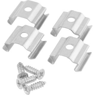 Progress Lighting P8752-01 Hide-a-Lite 4 Mounting Clips for LED Tape Sections