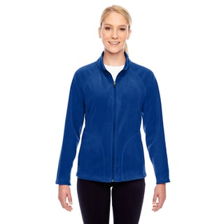 Campus Women's Royal Blue Polyester Microfleece Sport Jacket