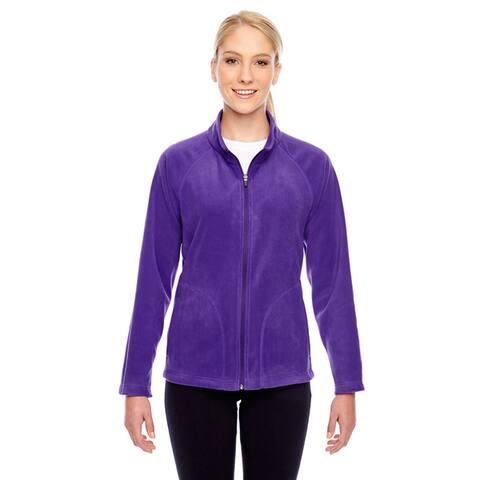 Campus Women's Purple Microfleece Sport Jacket