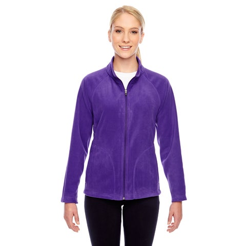 Campus Women's Purple Microfleece Sport Jacket