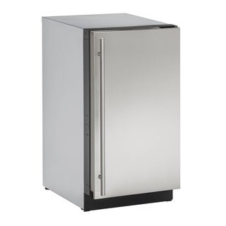 U-Line 3000 Series 3018 - 18 Inch Stainless Steel Clear Ice Maker with Pump