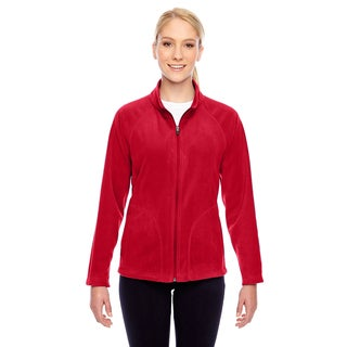 Campus Women's Red Polyester Microfleece Jacket