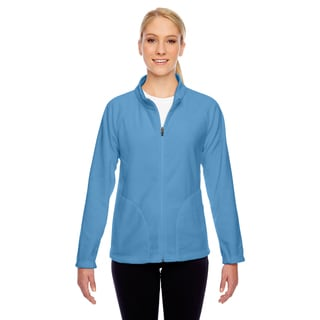 Campus Women's Blue Polyester Fleece Jacket