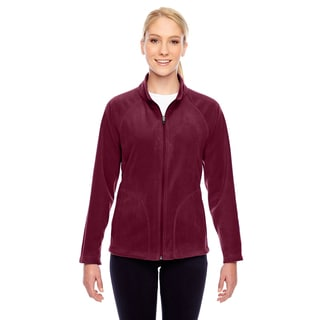 Campus Women's Maroon Microfleece Sport Jacket
