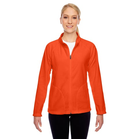Women's Campus Sport Orange Microfleece Jacket