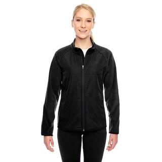 Pride Women's Black Polyester Microfleece Jacket