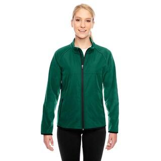 Pride Women's Green Polyester Fleece Jacket