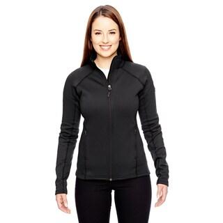 Stretch Women's Black Fleece Jacket