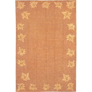 Abbyson Living Hand-knotted 'Oceans of Time' Gold Wool Rug (9' x 12')|https://ak1.ostkcdn.com/images/products/12151790/P19006028.jpg?impolicy=medium