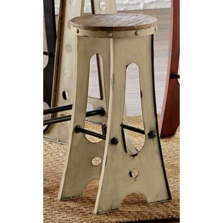 A-frame Forge 30-inch Zen Bar Stool