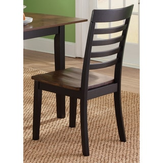 Cafe Back and Cherry Slat Back Side Chair