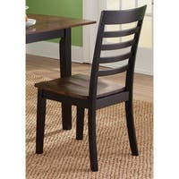 Cafe Back and Cherry Slat Back Dining Chair