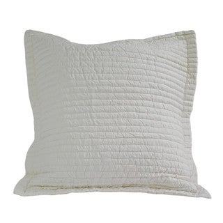 Nostalgia Home Lexington European Square Ivory Sham